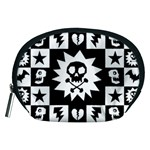 Gothic Punk Skull Accessory Pouch (Medium)