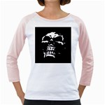 Morbid Skull Girly Raglan
