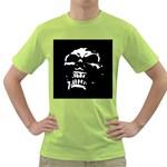 Morbid Skull Green T-Shirt