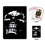 Morbid Skull Playing Cards Single Design (Rectangle)