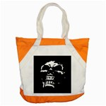 Morbid Skull Accent Tote Bag
