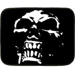 Morbid Skull Double Sided Fleece Blanket (Mini)