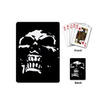 Morbid Skull Playing Cards Single Design (Mini)
