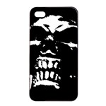 Morbid Skull iPhone 4/4s Seamless Case (Black)
