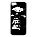 Morbid Skull iPhone 5 Case (Silver)