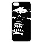 Morbid Skull iPhone 5 Seamless Case (White)