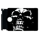 Morbid Skull Apple iPad 3/4 Flip 360 Case