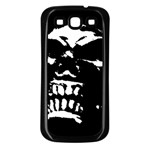 Morbid Skull Samsung Galaxy S3 Back Case (Black)