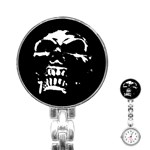 Morbid Skull Stainless Steel Nurses Watch