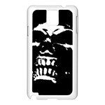 Morbid Skull Samsung Galaxy Note 3 N9005 Case (White)