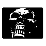 Morbid Skull Double Sided Fleece Blanket (Small)