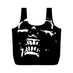 Morbid Skull Full Print Recycle Bag (M)