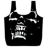 Morbid Skull Full Print Recycle Bag (XL)