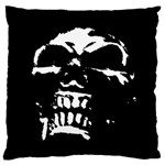 Morbid Skull Large Flano Cushion Case (One Side)