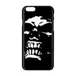 Morbid Skull iPhone 6/6S Black Enamel Case