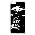Morbid Skull iPhone 6 Plus/6S Plus Enamel White Case
