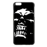 Morbid Skull iPhone 6 Plus/6S Plus Black Enamel Case