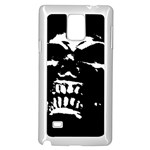 Morbid Skull Samsung Galaxy Note 4 Case (White)