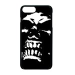 Morbid Skull iPhone 7 Plus Seamless Case (Black)