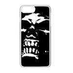 Morbid Skull iPhone 7 Plus Seamless Case (White)