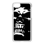 Morbid Skull iPhone 7 Seamless Case (White)