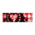 Love Heart Splatter Sticker Bumper (10 pack)