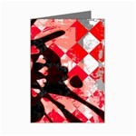 Love Heart Splatter Mini Greeting Cards (Pkg of 8)