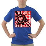 Love Heart Splatter Dark T-Shirt