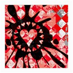 Love Heart Splatter Medium Glasses Cloth (2 Sides)