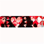 Love Heart Splatter Large Bar Mat