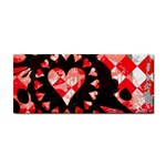 Love Heart Splatter Hand Towel