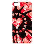 Love Heart Splatter iPhone 5 Seamless Case (White)
