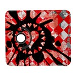 Love Heart Splatter Samsung Galaxy S  III Flip 360 Case