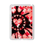 Love Heart Splatter Apple iPad Mini 2 Case (White)