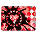 Love Heart Splatter Samsung Galaxy Tab 10.1  P7500 Flip Case