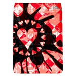 Love Heart Splatter Removable Flap Cover (S)