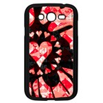 Love Heart Splatter Samsung Galaxy Grand DUOS I9082 Case (Black)