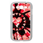 Love Heart Splatter Samsung Galaxy Grand DUOS I9082 Case (White)