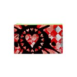 Love Heart Splatter Cosmetic Bag (XS)