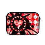 Love Heart Splatter Apple MacBook Pro 15  Zipper Case