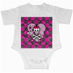 Princess Skull Heart Infant Creeper