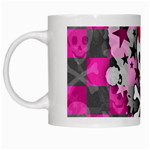 Princess Skull Heart White Mug