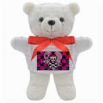 Princess Skull Heart Teddy Bear