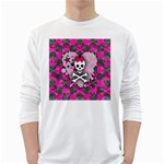 Princess Skull Heart Long Sleeve T-Shirt