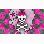 Princess Skull Heart Canvas 40  x 72