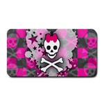 Princess Skull Heart Medium Bar Mat