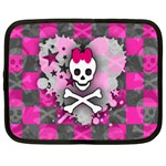 Princess Skull Heart Netbook Case (Large)