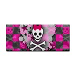 Princess Skull Heart Hand Towel