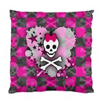 Princess Skull Heart Standard Cushion Case (One Side)