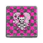 Princess Skull Heart Memory Card Reader (Square 5 Slot)